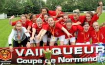 Coupe de Normandie - Le FC ROUEN force 9