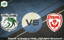 D2 - Suivez HENIN-BEAUMONT - NANCY en direct sur la WEB TV de la FFF