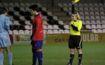 """Arbitre - Sandrine BALLYET : """"Ne plus accepter de se faire cogner pour un match de foot..."""""""