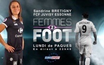 Vidéo - Femmes 2 Foot avec Sandrine BRETIGNY (en replay)