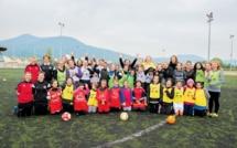 La Ville de GRENOBLE crée la première école municipale de football féminin