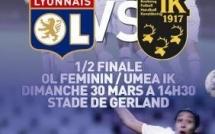 Demi-finale aller : les Lyonnaises attendent le soutien d'un public nombreux