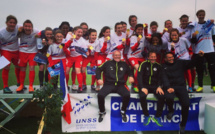 UNSS - Championnat de France Football Excellence : VALENCE champion de France 2016