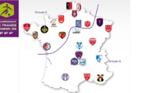 #D2F - Les calendriers 2016-2017 des rencontres des groupes A et B